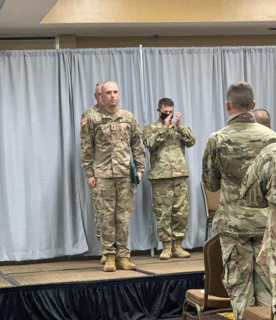 1st Lt. Andrew Skretteberg earns prestigious Bronze Star