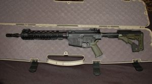LaRue Tactical OBR sniper rifle