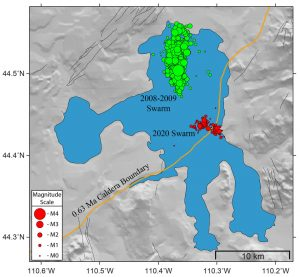 Yellowstone Earthquake Swarms