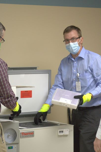 Pfizer COVID vaccine arrives in Park County