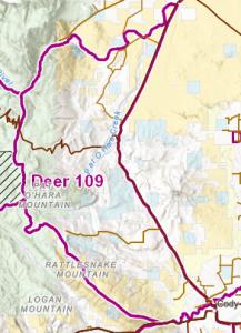 Wyoming Deer Hunt Area 109