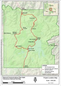 Yellowstone Fiber Optic Cable Map
