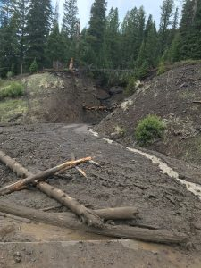 North Fork mudflow
