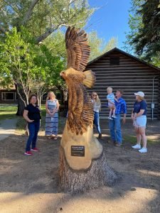 Soaring High Unveiling at Cody Country Chamber of Commerce