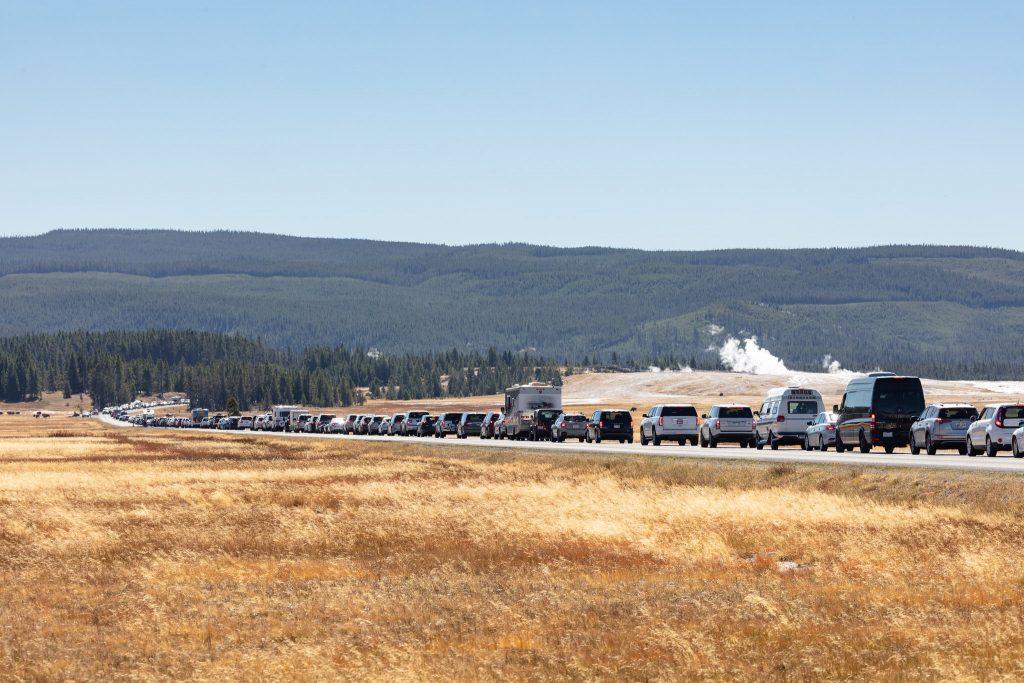 Yellowstone vehicle traffic