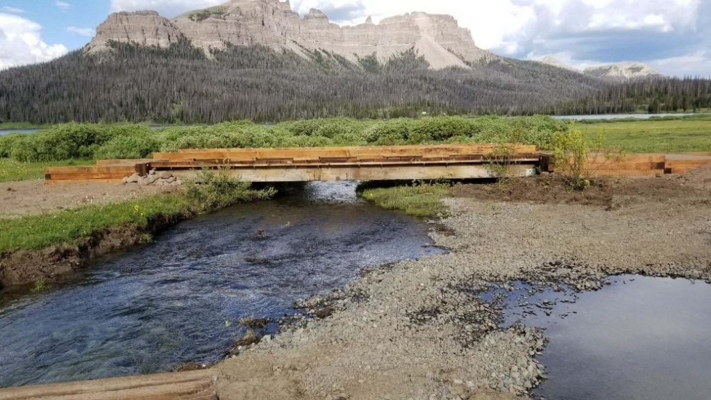 New Yellowstone Trail Bridge