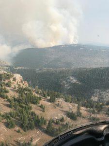 Crater Ridge Fire 08-15-21
