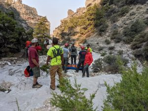 Big Horn Search and Rescue in Simmons Canyon