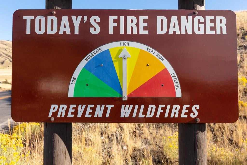 Yellowstone Fire Danger