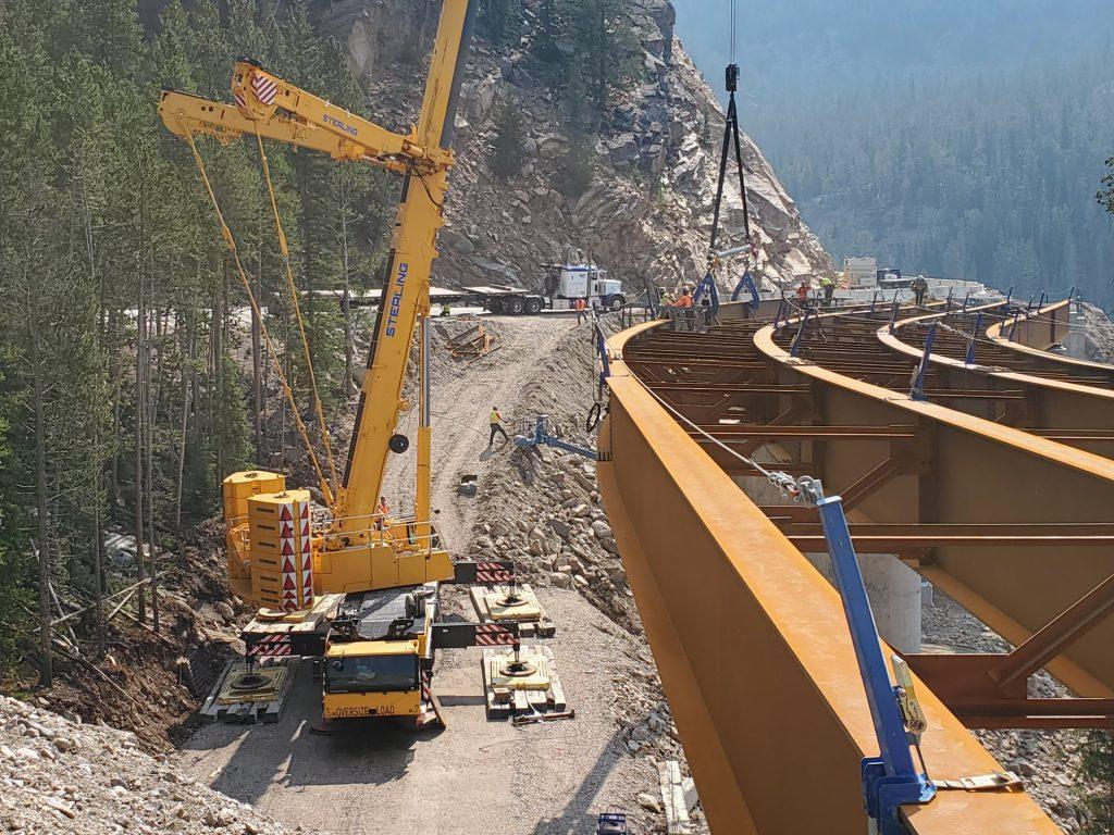 Beartooth Highway Construction, Summer 2021