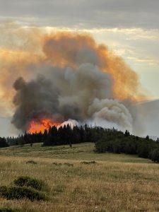 Crater Ridge Fire 08-08-21