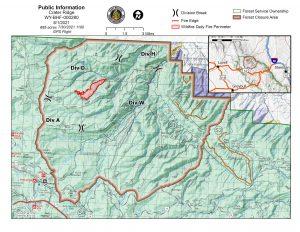 Crater Ridge Fire Closure Area