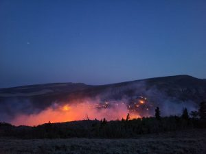 Sand Creek Fire 09-01-21