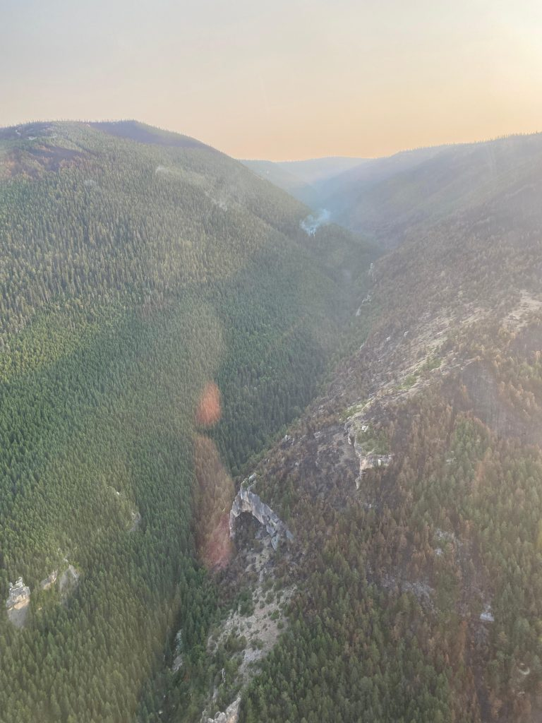 Crater Ridge Fire 09-01