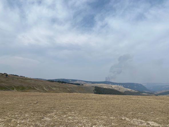 Crater Ridge Fire 09-06-21