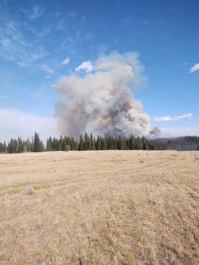 Crater Ridge Fire 09-16