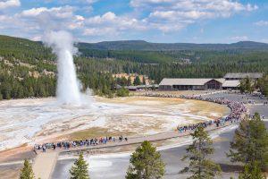 Yellowstone Old Faithful Sept 21