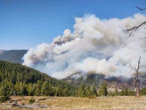 Crater Ridge Fire 10-04